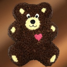 Bear Chocolate Cake