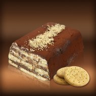 Biscuit Cake with Nutella & Mascarpone