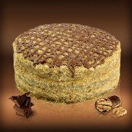 Bavarian Walnut Cream Cake